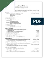 bsn resume