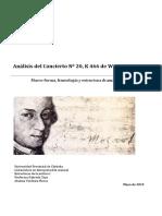 Analisis Concierto Mozart
