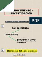 1 CONOCIMIENTO - INVESTIGACIÓN