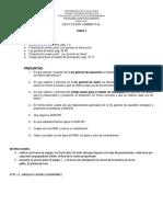 Tarea 7 Legislacion y Medio Ambiente