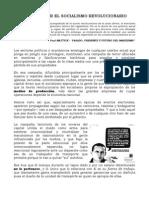 Ángel C. Colmenares E. - LA LUCHA POR EL SOCIALISMO REVOLUCIONARIO
