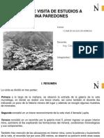 1. Informe Visita de Estudios a Mina Paredones