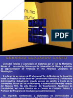 Conferencia Informacion Financiera-Gerardo Guajardo Cantu