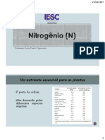 Nitrogênio (N)