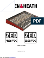 Allen & Heath DJ Equipment ZED 22 FX