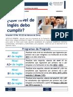 Que nivel de inglés debo cumplir.pdf