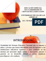 Diapositivas Educación Especial