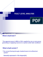 Fault Level Analysis