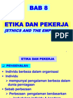 Ethics and Employees