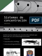 Sistemas de Concentración