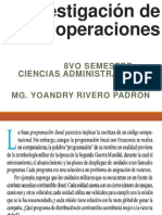 Clase 2 Investigación de Operaciones
