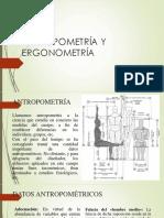 Antropometría y Ergonometría