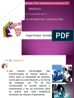 TECNOLOGÍA DE INFORMACIÓN Y COMUNICACIÓN.