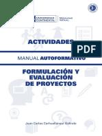 A0205 MA Formulacion y Evaluacion de Proyectos ACT ED1 V1 2015