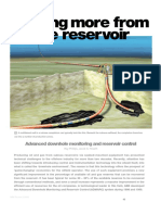 Advanced downhole monitoring and reservoir control