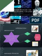 Manuales Tecnicos y de Usuario en Papel y