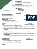 alyson updated resume 2017