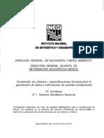 5- Sistema Geodesico Nacional