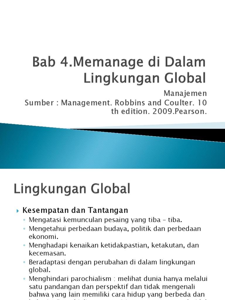 Manajemen Dalam Lingkungan Global 1506924476