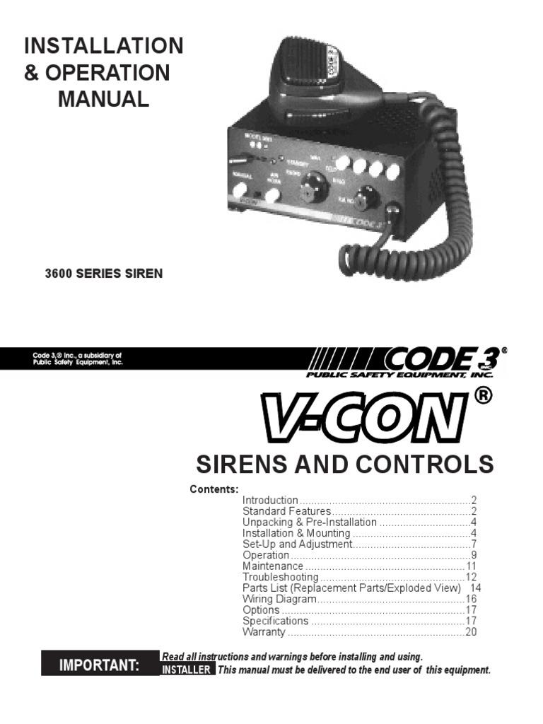 Code 3 Siren Wiring Diagram   Wiring Diagram Code Mx Wiring Diagram on
