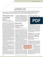 Nature News Synthetic Cell