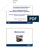 Presentacion Motivacion 6º Diplomatura