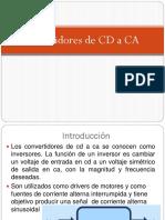 Convertidores de CD a CA