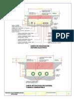 Corte de Excavaciones Electricas y de Tuberia Hidrocarburos 1-2