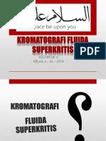 Kromatografi Fluida Superkritis ( Ppt Anfar 2 )