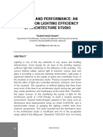 8.Lighting and Performance- An Analysis on Lighting Efficiency of Architecture Studio