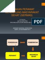 Peran Perawat Dalam Mewujudkan Indonesia Sehat Dan Germas (Ppni)