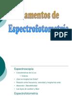Semana N7 Espectrofotometría