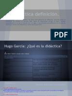 Didactica definiciones