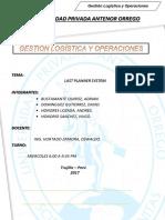 Logistica Trabajo Last Planner System