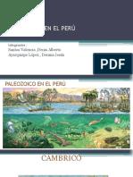Fanerozoico en El Peru