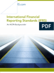 IFRS an AICPA Backgrounder