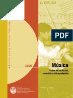 Musica-creacion e Interpretacion