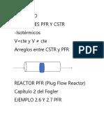 III Unidad Reactores