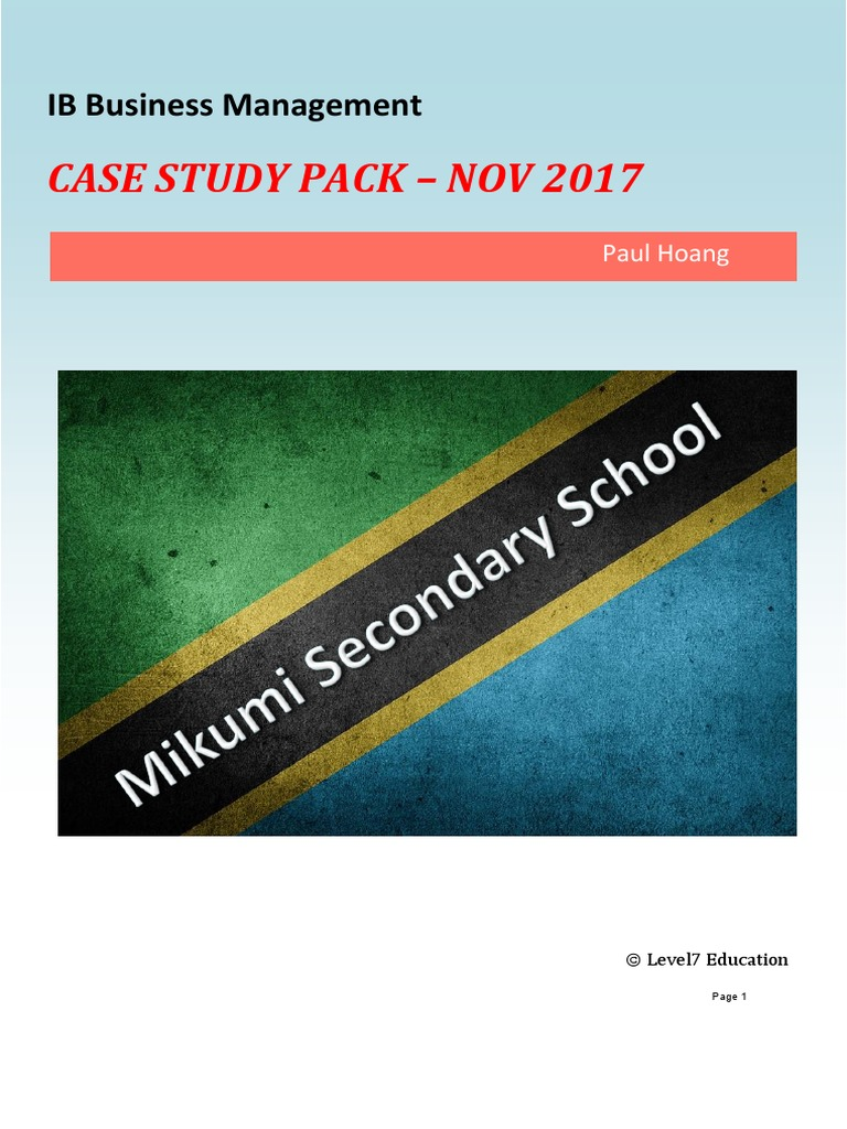 Case study pack november 2017 paul hoang economies business fandeluxe Gallery