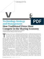 01. How Traditional Firms Must Compete in the Sharing Economy