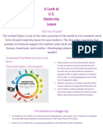 maternity flyer