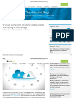 6 Cloud Computing Challenges Businesses Are Facing