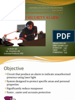 Laser Security Alarm