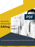 Pepgra Healthcare - Medical Editing Services (Brochure)