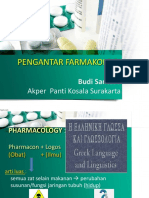 Pengantar Farmakologi 23092015BS45