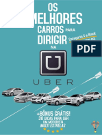 Os melhores carros para Dirigir na Uber + Bonus 30 dicas para ser um motorista multi estrelas