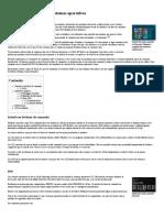 Interfaces de Usuario de Sistemas Operativos - Departamento de Informatica