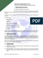 03 Mediclaim 2012 Policy