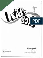 Kid's Box Activity Book 5