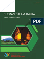 Kabupaten Sleman Dalam Angka 2017